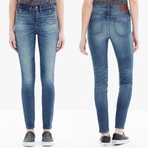 Madewell • High Riser Crop jeans